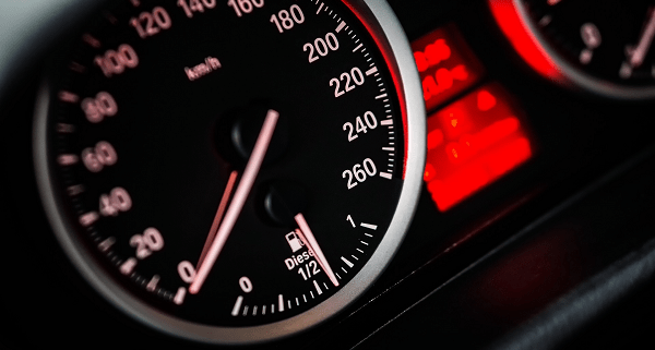 Car Speedometer and Penalties for DWI or DUI in Maryland