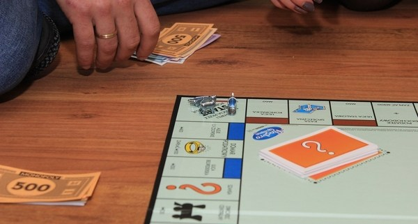 Monopoly Game and Bankruptcy