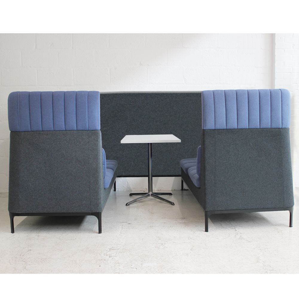 Allermuir Haven Booth High Back Sofa Meeting Pod