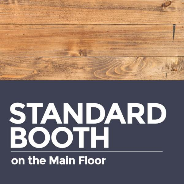 Standard Booth on the Main Floor