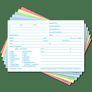 Medium Clip Cards