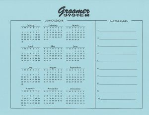 groomer system appointment book barkleigh store