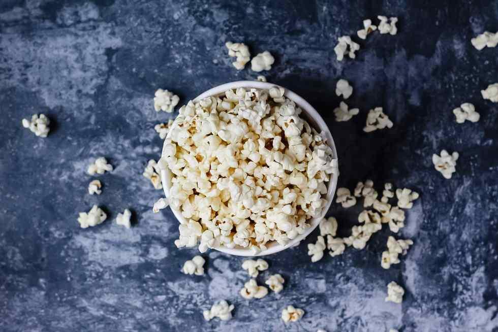 brown butter popcorn