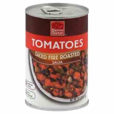 harris teeter fire roasted tomatoes