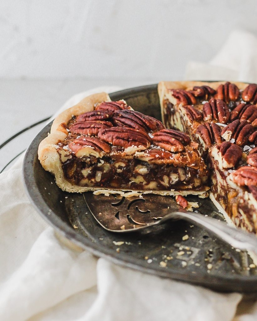 pecan pie with dates and no corn syrup