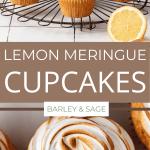 lemon meringue cupcakes pin