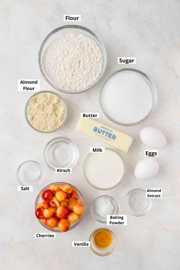 rainier cherry cupcakes ingredients