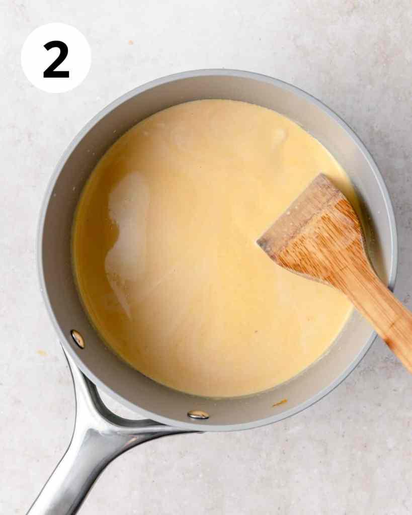 pumpkin cheese sauce