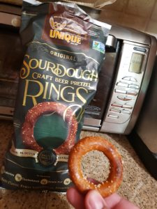sourdough pretzel ring
