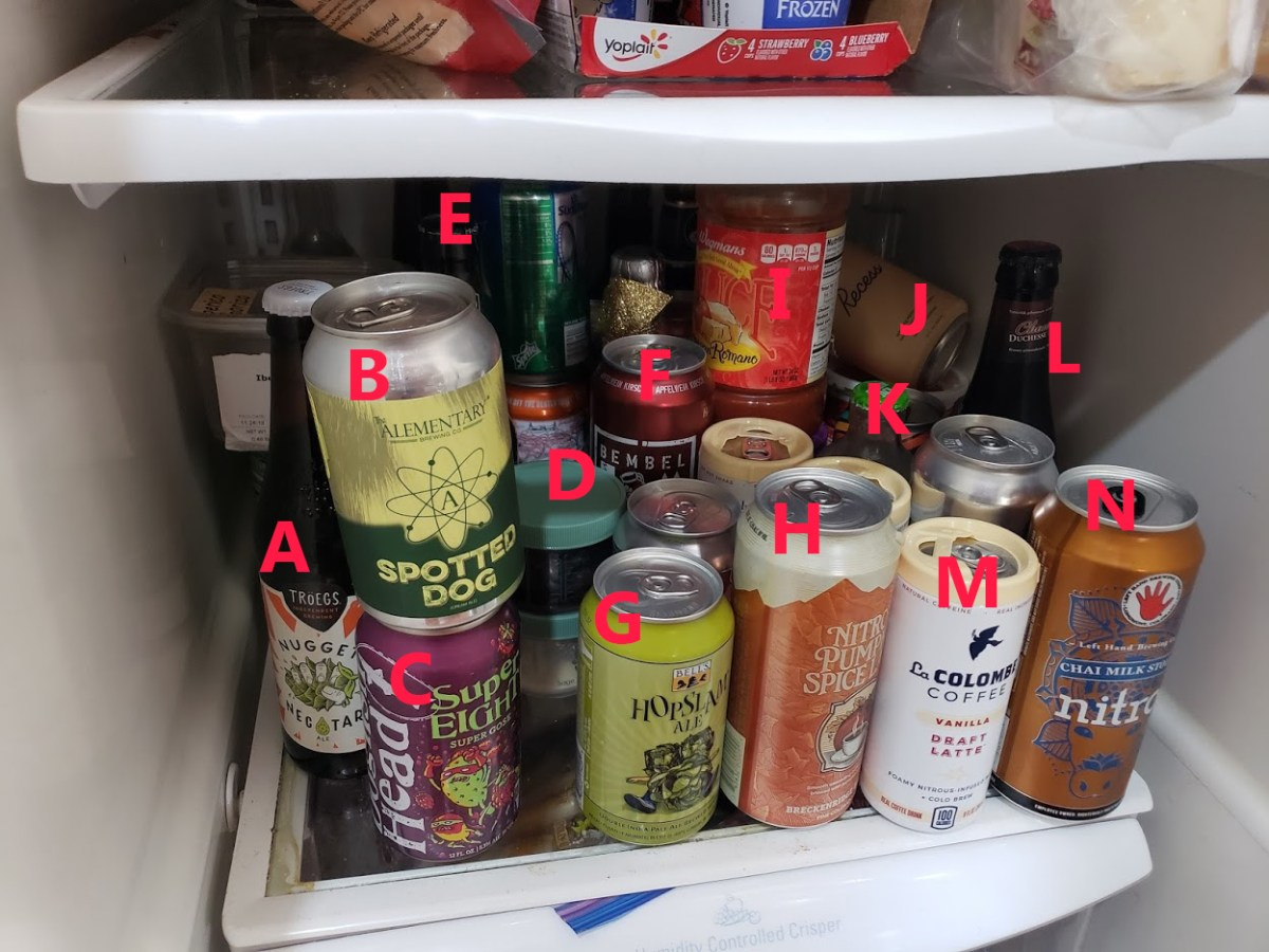 a look inside my fridge