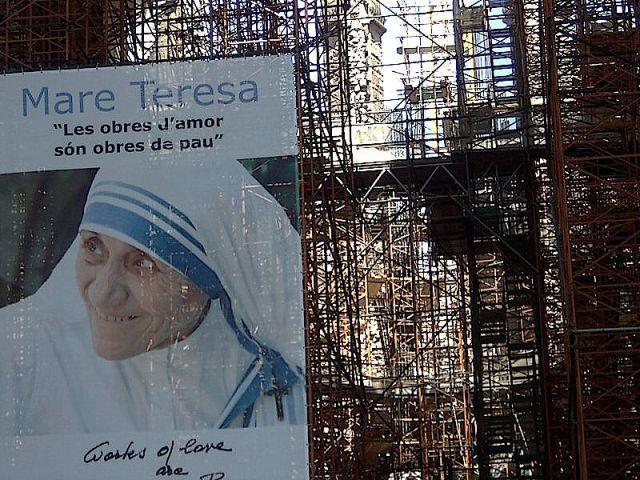 Sagrada Familia: Madre Teresa Calcuta