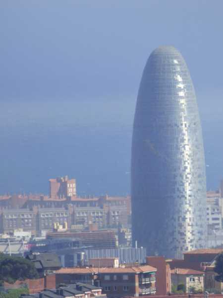 Torre Glorias o Torre Agbar