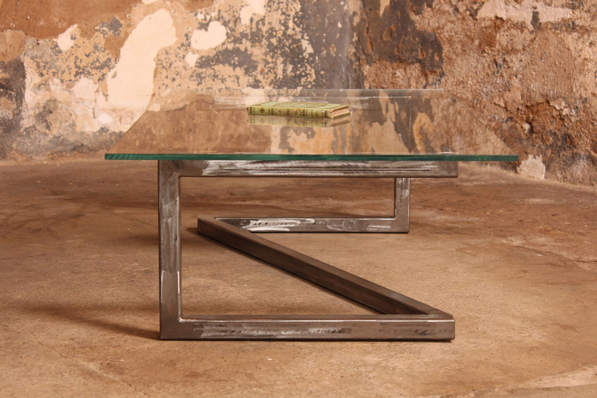 Barnab Design Table Basse Mtis Verre Securit
