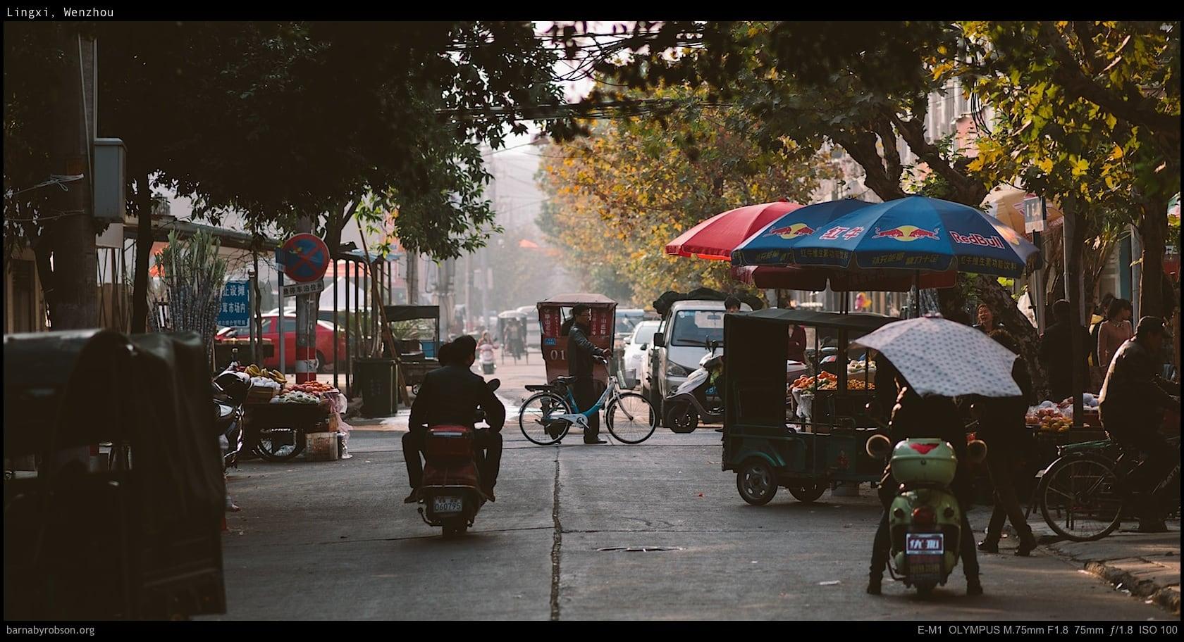 Lingxi Streets