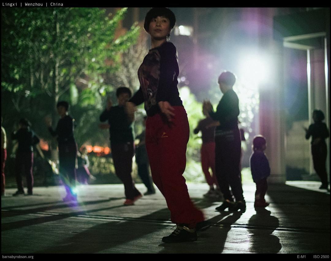 dancing ladies of Wenzhou (1 of 2) - [Lingxi, Wenzhou series]