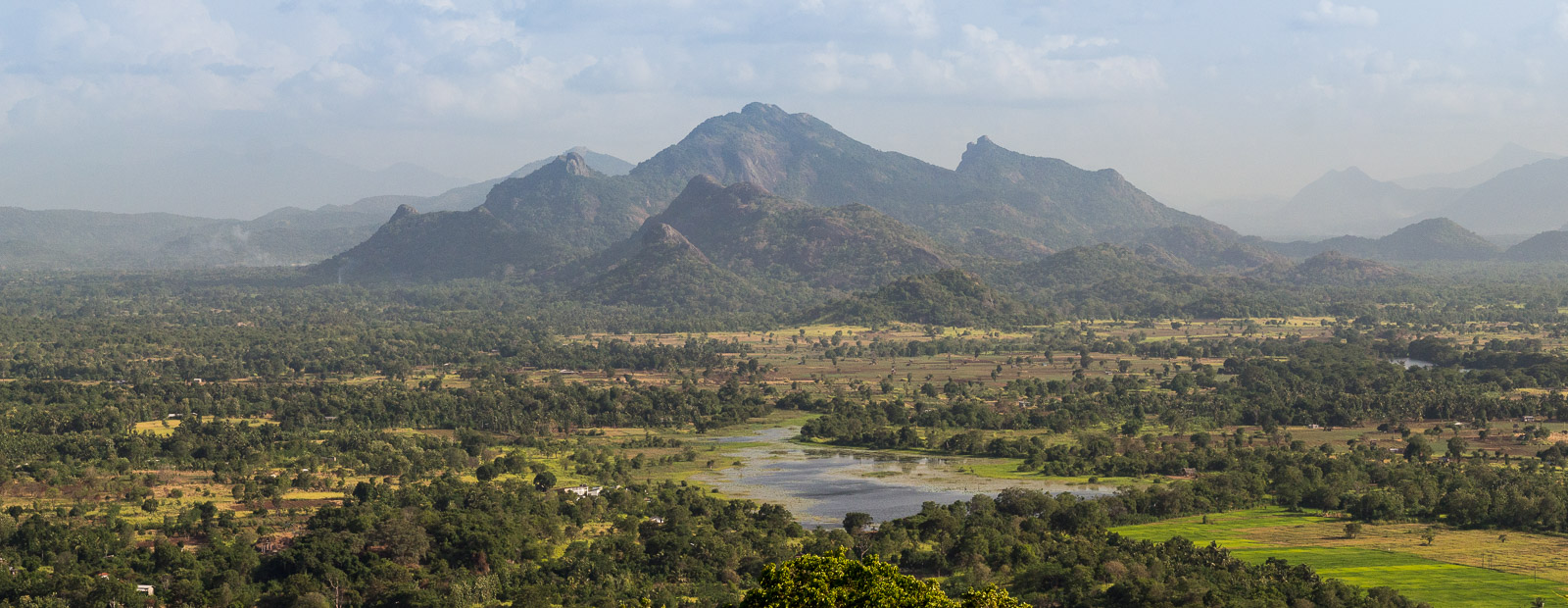 looking south from the summit of Sigiriya