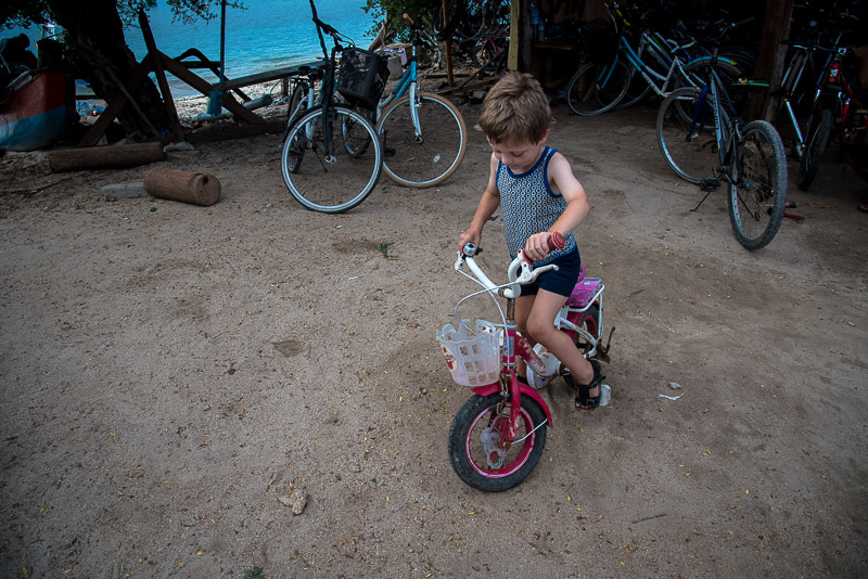 Børnecykel Gili Trawangan