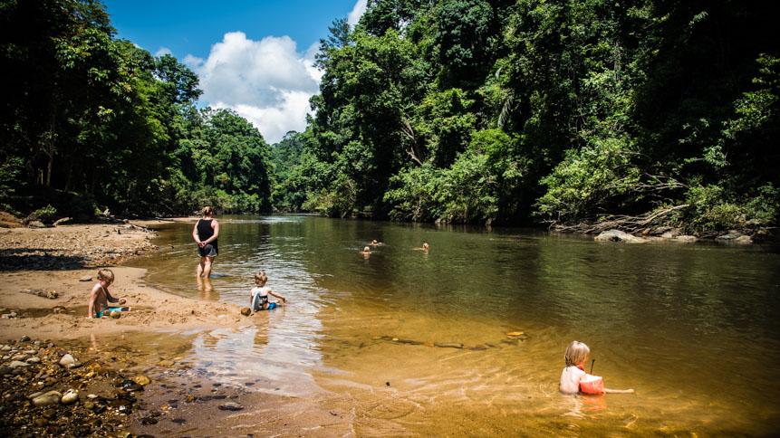 Bader i floden