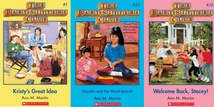 Image result for the babysitters club books