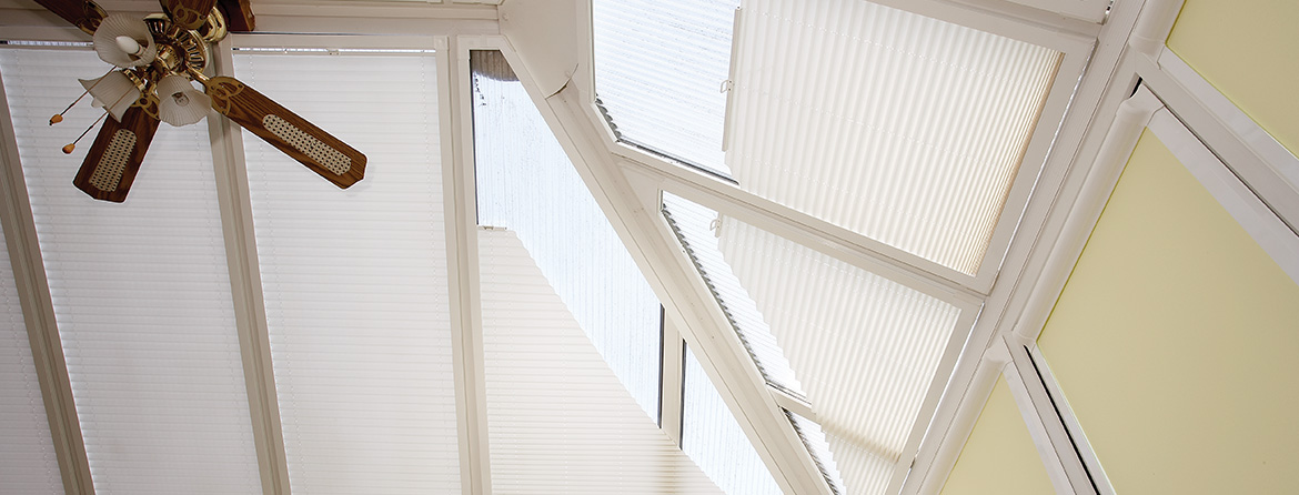 Fitted blinds for your conservatory