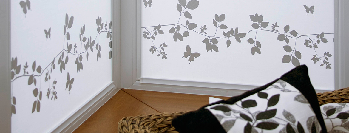 Patterned Perfect Fit & Intu Blinds from Barnes Blinds in Stoke-on-Trent