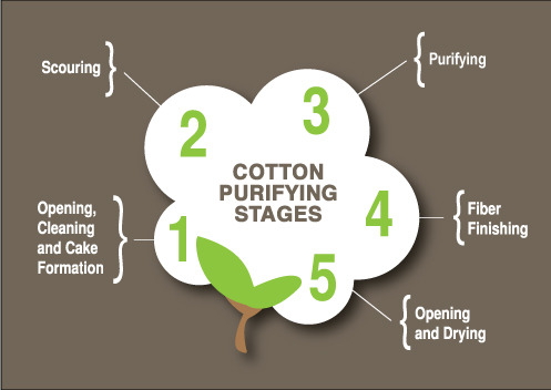 Cotton Bleaching Stages