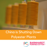 China is shutting down polyester plants