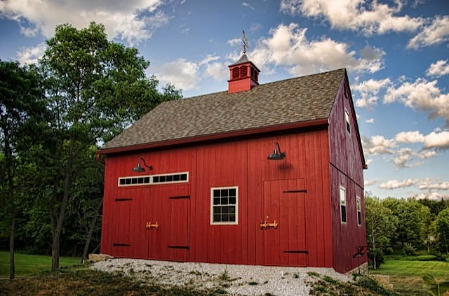 barn lighting brings authentic look to