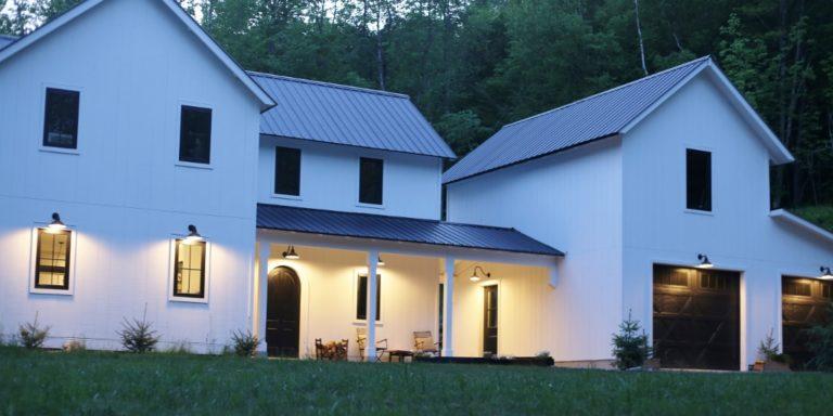 modern farmhouse journey exterior