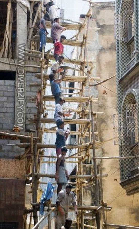 Bamboo Scaffolding In Asia Barnorama