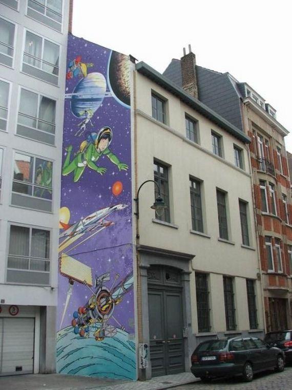 Wall Art In Belgium Barnorama