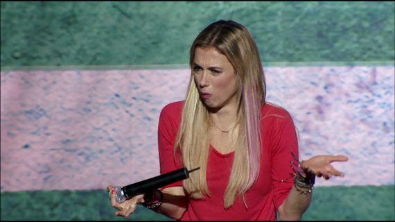 Blonde Female Comedian Barnorama