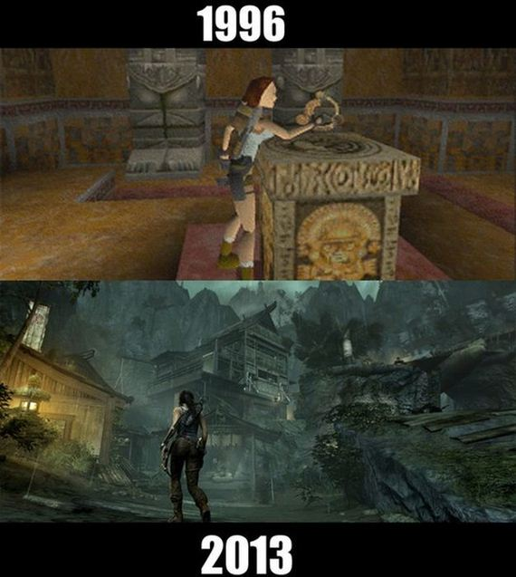 Classic Video Games Then And Now Barnorama