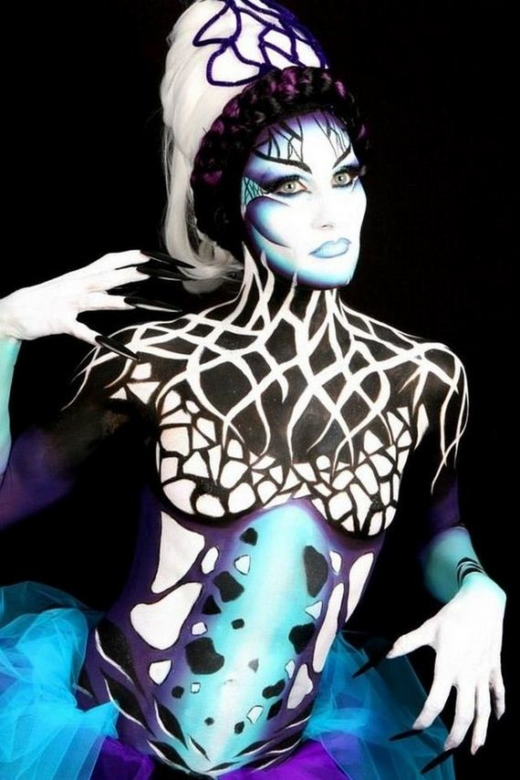 These Body Paint Pictures Put Bikini Wearing To Shame