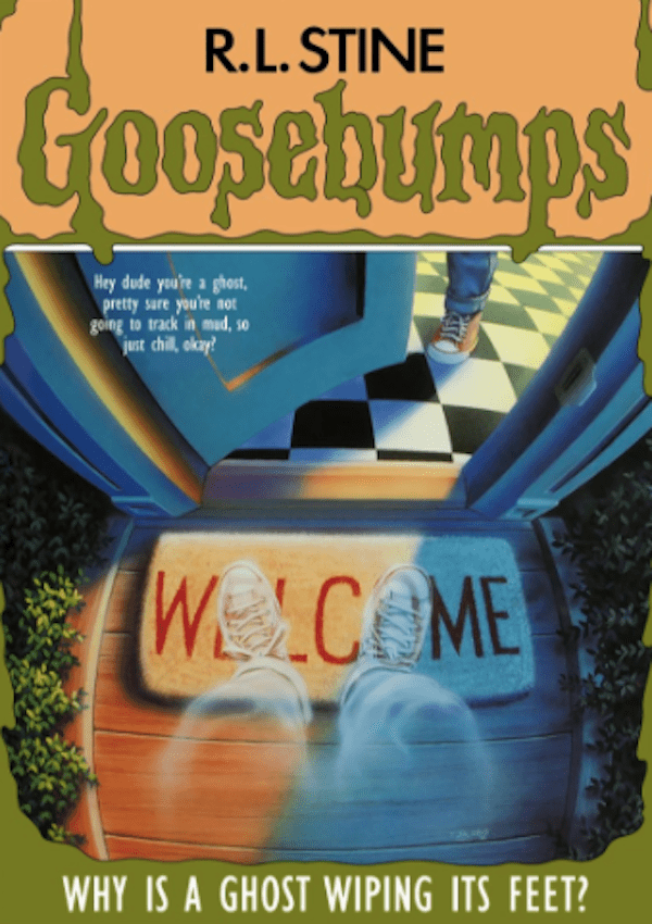 Hilarious New And Improved Titles For The Goosebumps Books