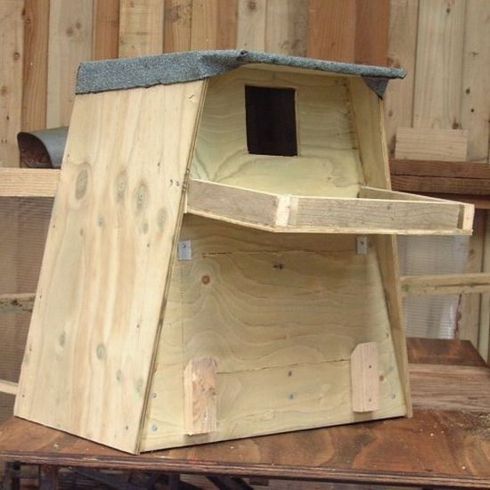 Barn Owl Box For Trees Outdoor Nestbox Direct From The