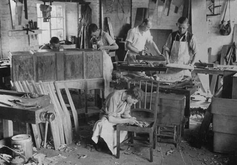 Our Heritage Edward Barnsley Workshop
