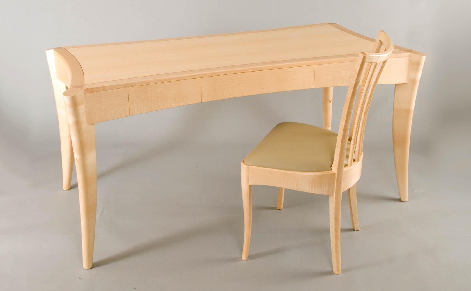 Sycamore Desk Edward Barnsley Workshop
