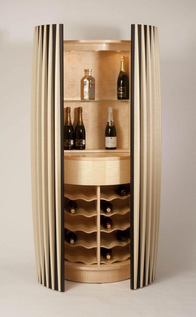 Silhouette Drinks Cabinet Edward Barnsley Workshop