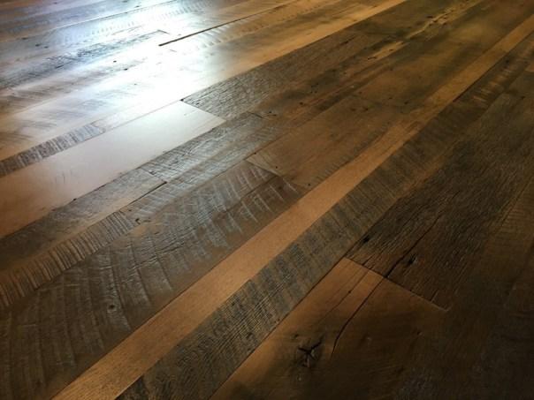 Barnwood Floor- Square Grouper Lounge