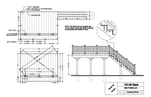 Deck design plans australia empty51pkw for How to make building plans for permit