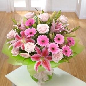 Lillies Roses Gerbera