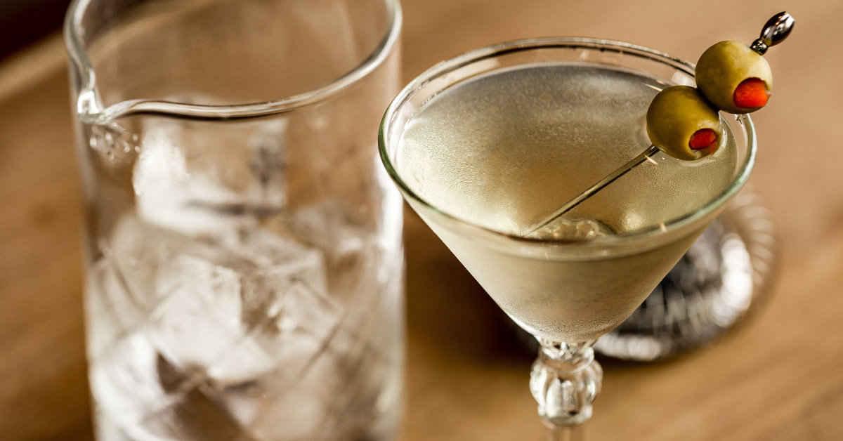 dirty martini kokteyl cocktail