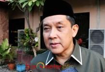 DUKUNG KIAI MA'RUF AMIN: Ali Masykur Musa, logis kalau warga NU menyukseskan KH Ma'ruf Amin di Pilpres 2019.   Foto: Barometerjatim.com/ABDILLAH HR
