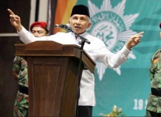MEGAPROYEK HINA BANGSA: Amien Rais, ada tiga megaproyek yang menghina bangsa Indonesia karena tidak masuk akal. | Foto: IST
