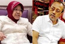 Armuji (kanan) dan Tri Rismaharini, saatnya Pemkot Surabaya berbenah soal perizinan.   Foto: Ist