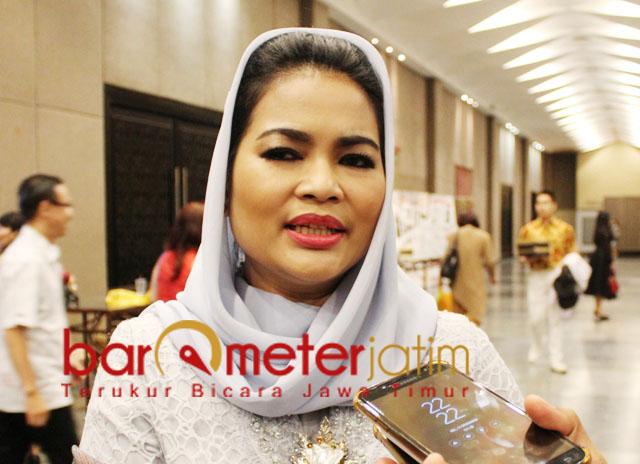 TAK MAJU PILWALI SURABAY 2020: Puti Guntur Soekarno, tak maju di Pilwali Surabaya 2020 karena ditugasi PDIP di legislatif. | Foto: Barometerjatim.com/ROY HASIBUAN