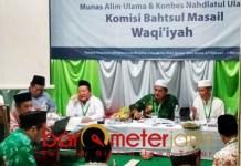 Komisi Bahtsul Masail Waqi'iyah, haram bisnis MLM. | Foto: Barometerjatim.com/syaiful kusnan