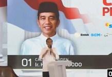 Debat Capres! Jokowi sebut Prabowo tak percaya dengan TNI dalam membangun pertahanan bangsa. | Foto: Ist