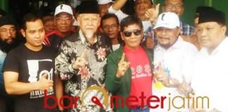 Deklarasi Leluhur Noeswantoro untuk pemenangan Jokowi-Ma'ruf di Gresik. | Foto: Barometerjatim.com/didik